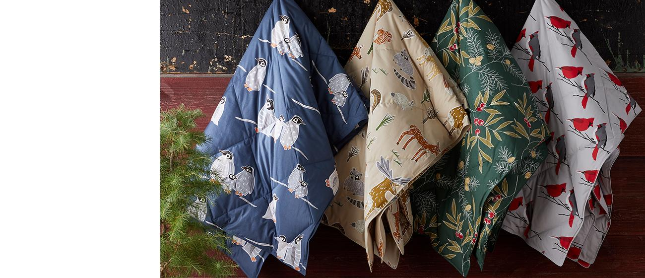 Shop Holiday Throws