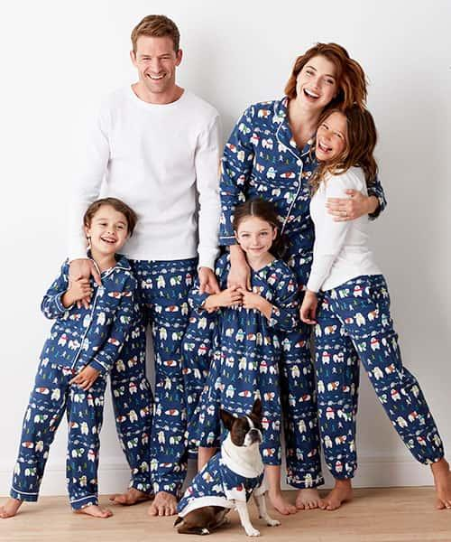 Family Flannel Pajamas - Bear