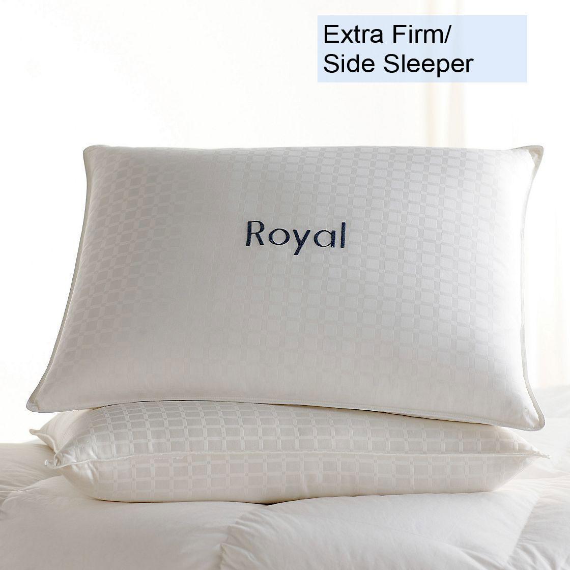 Legends® Royal Down Pillow – Extra- Firm, Side Sleeper