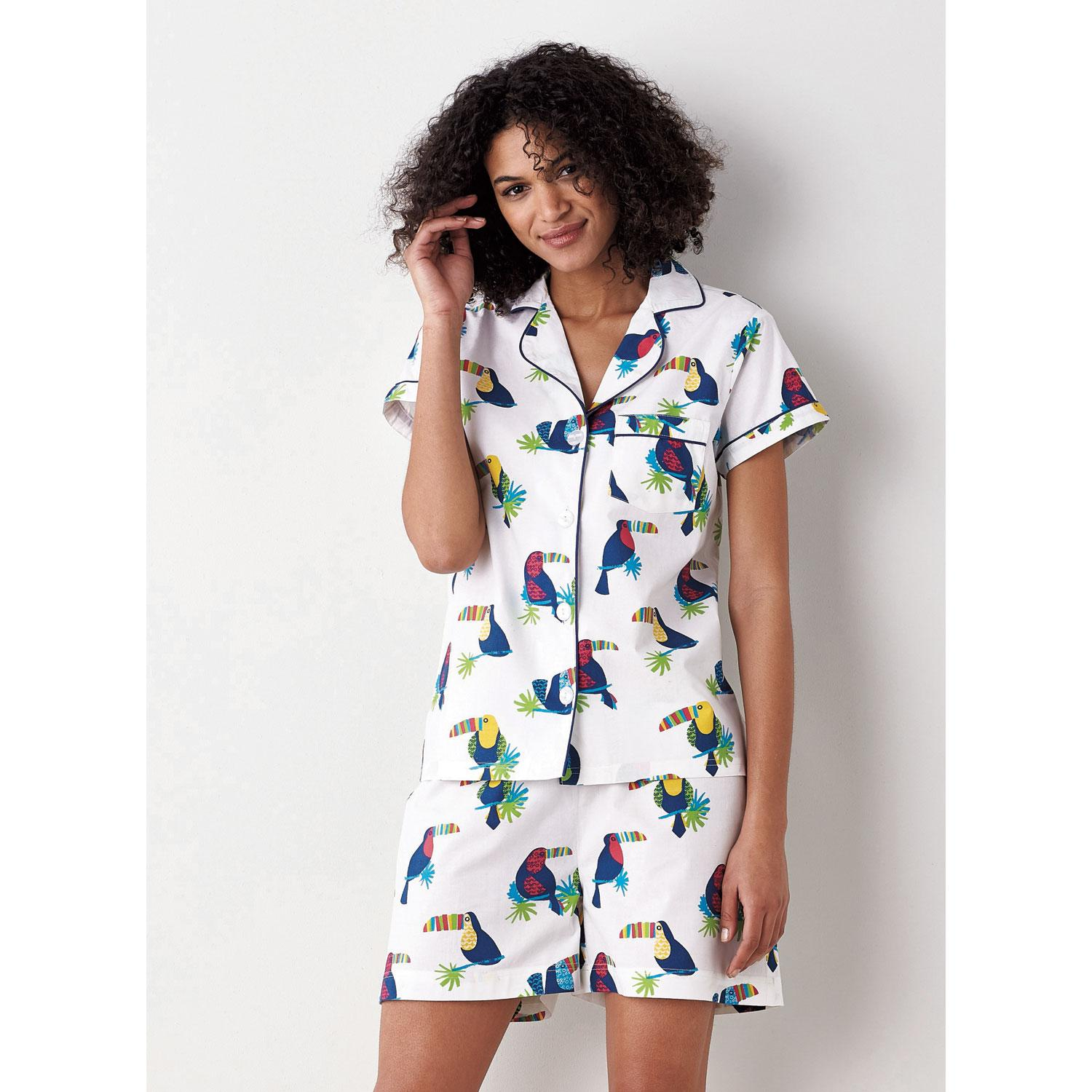 0be518b048 Printed Poplin Cotton Short Set Toucans L Toucan U.S. Supply ...