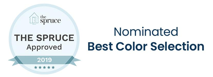 Nominated Best Color Selection by The Spruce