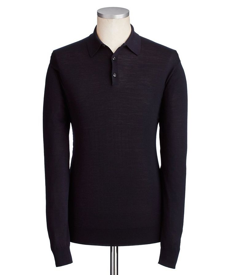 Wool Knit Polo image 0