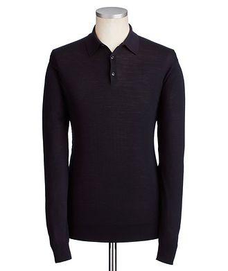 Ermenegildo Zegna Wool Knit Polo