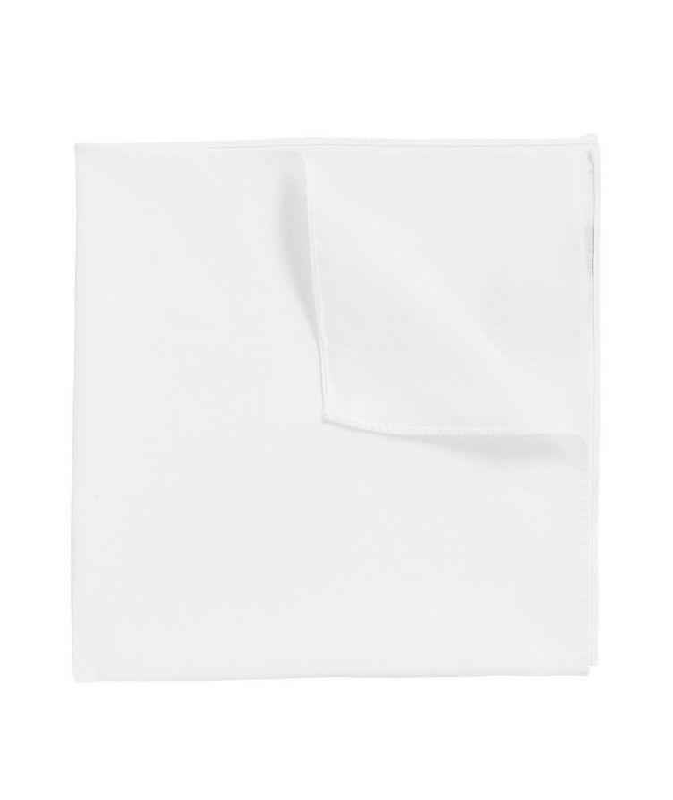 Mouchoir de poche en coton image 0