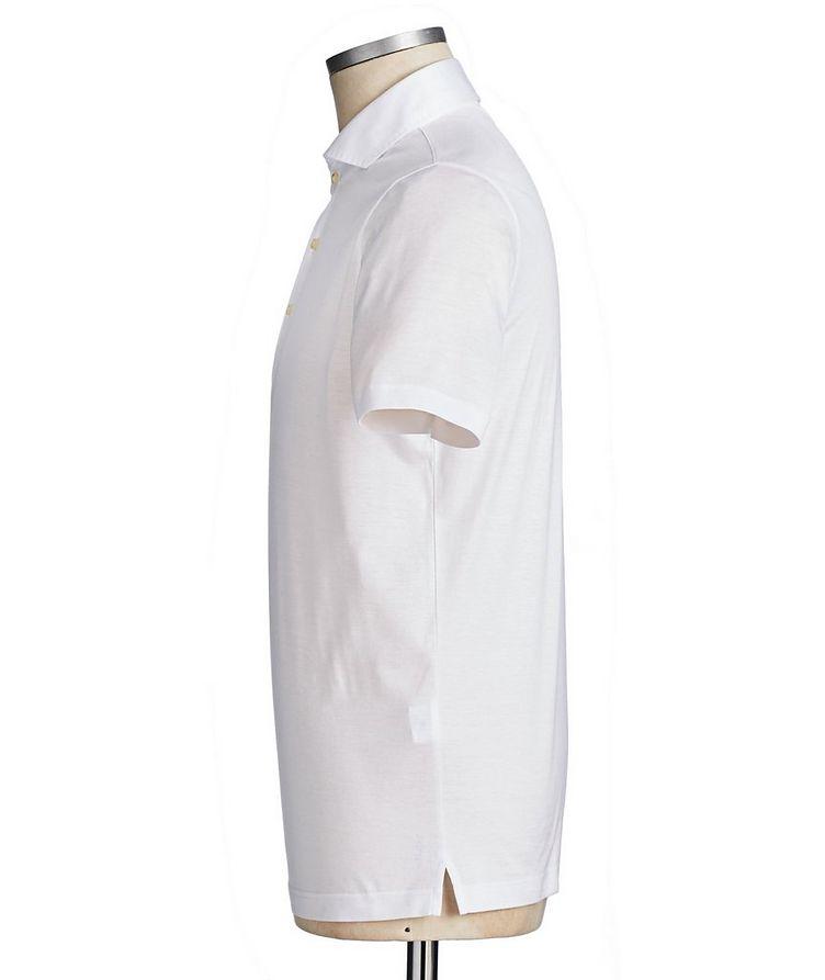 Polo en coton piqué image 1