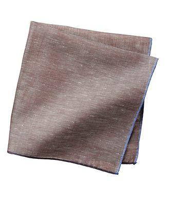 Simonnot Godard Cotton-Linen Pocket Square
