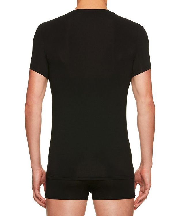 Stretch-Modal V-Neck T-Shirt picture 2