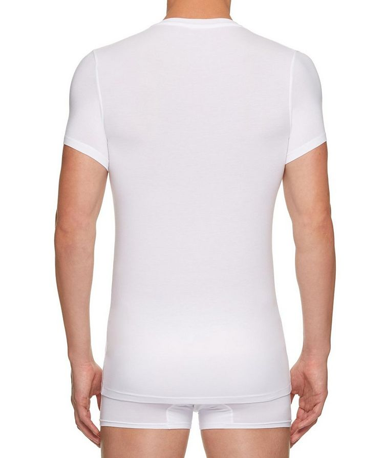 Stretch-Modal V-Neck T-Shirt image 2