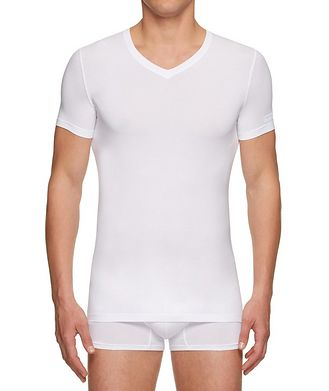 Ermenegildo Zegna Stretch-Modal V-Neck T-Shirt