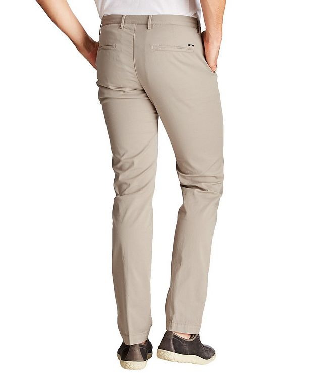 Rice Slim Fit Stretch Cotton Chinos picture 2