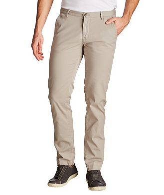 BOSS Rice Slim Fit Stretch Cotton Chinos