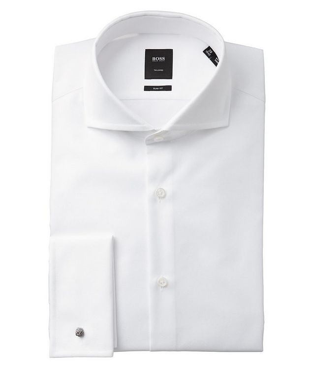 Slim Fit French Cuff Dress Shirt picture 1