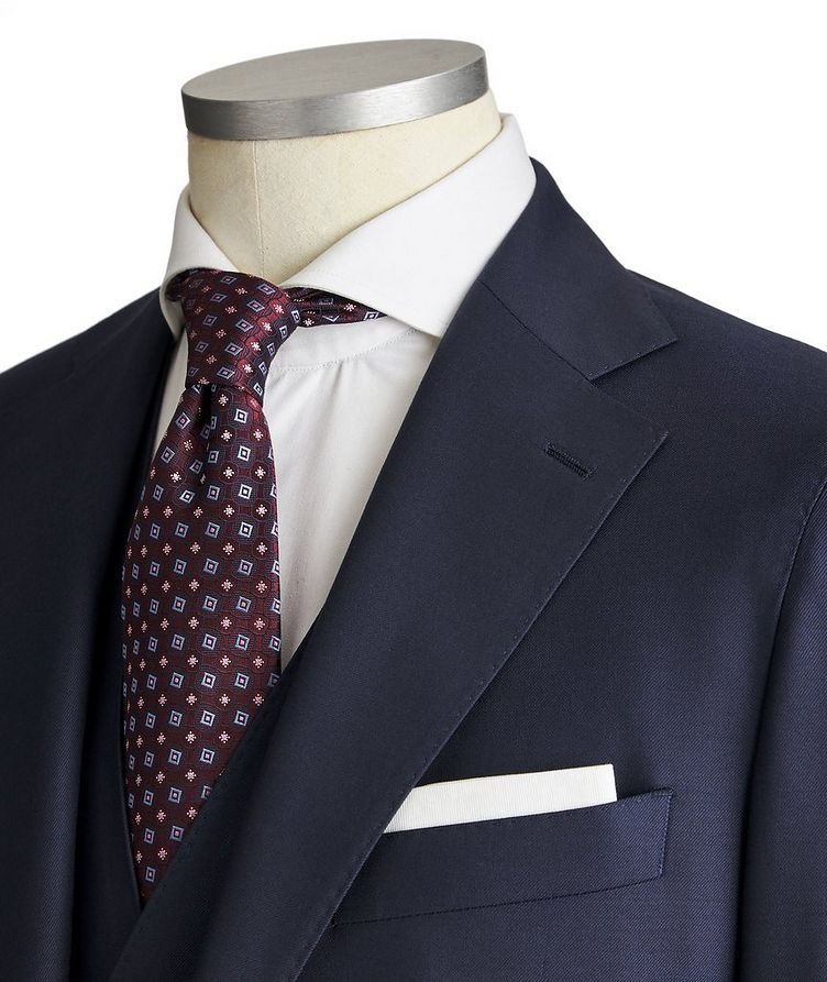 Slim Fit Three-Piece Suit image 1