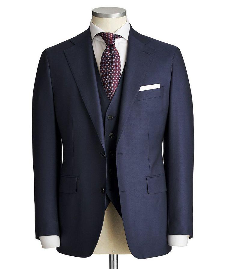 Slim Fit Three-Piece Suit image 0