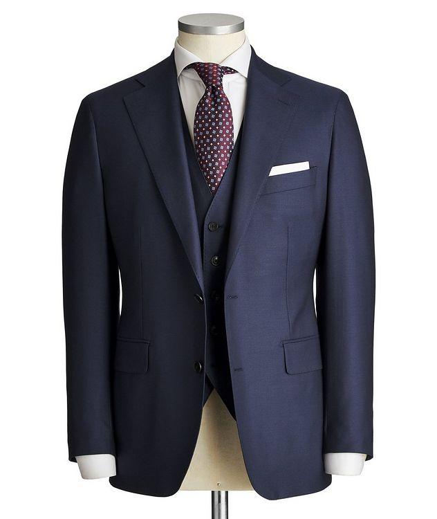 Slim Fit Three-Piece Suit picture 1