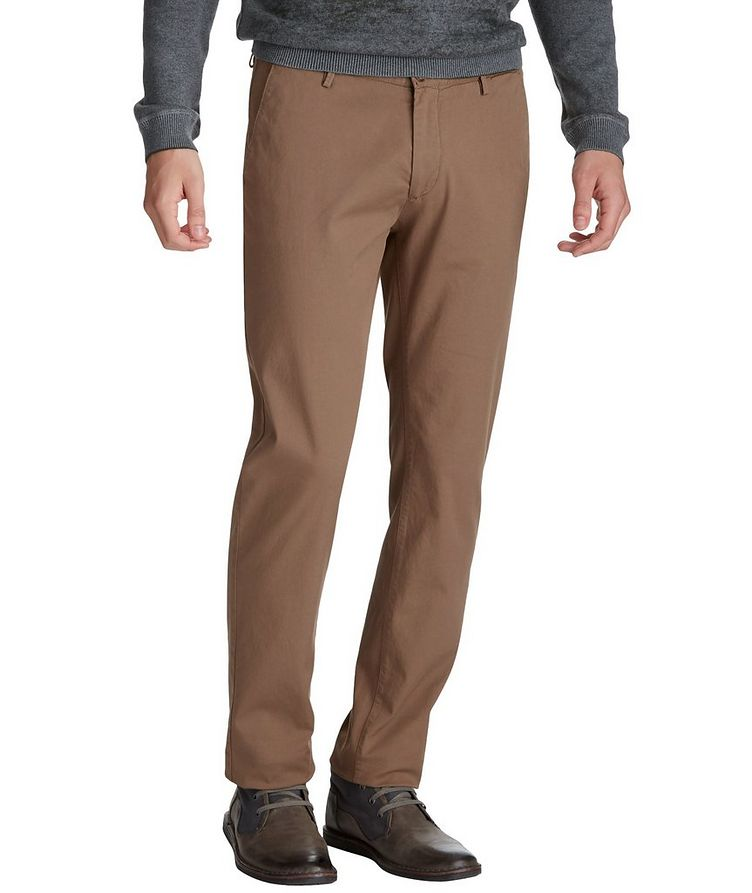 Rice Slim Fit Trousers image 0