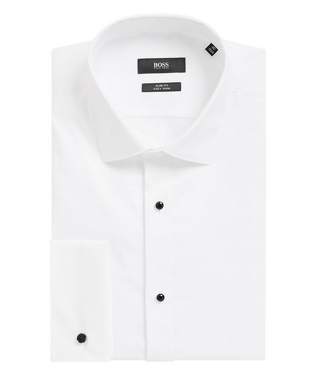 Easy Iron Slim Fit Dress Shirt picture 1