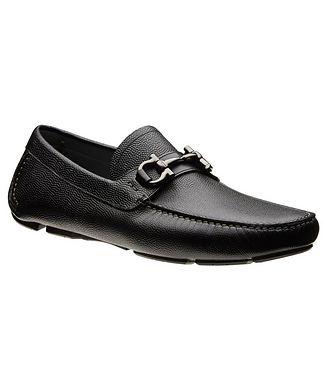 Salvatore Ferragamo Gancini Bit Driving Shoes