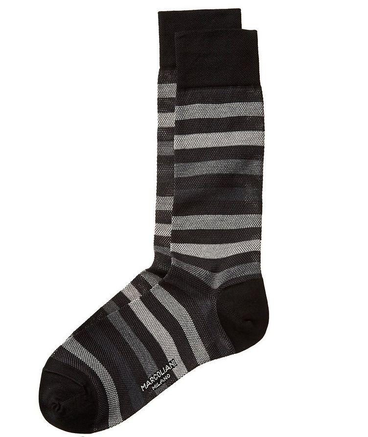 Striped Cotton Socks image 0