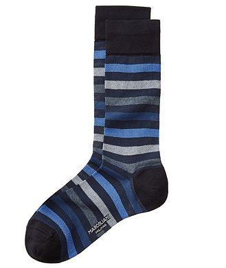 Marcoliani Milano Striped Cotton Socks