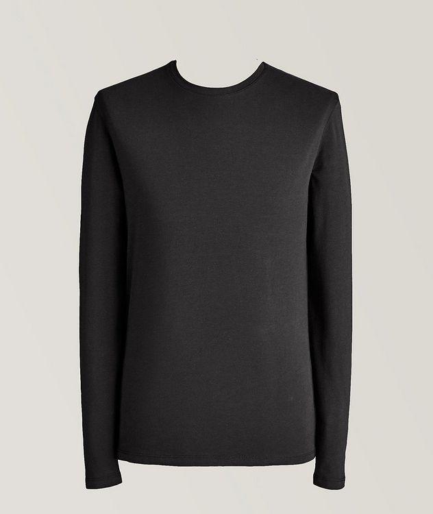 Long-Sleeve Pima Cotton T-Shirt picture 1