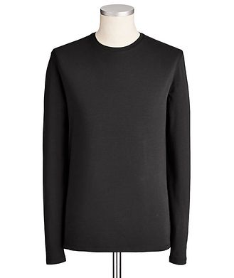 Patrick Assaraf Long-Sleeve Pima Cotton T-Shirt