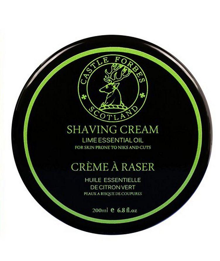 Lime Oil Shaving Cream image 0