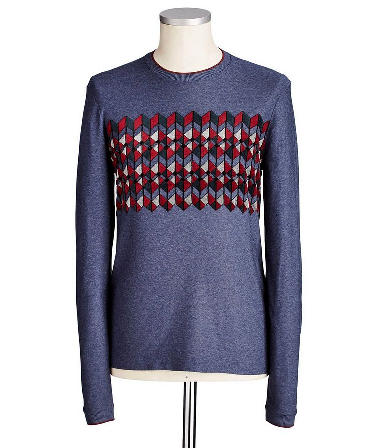 Technical Knit Sweater image 0