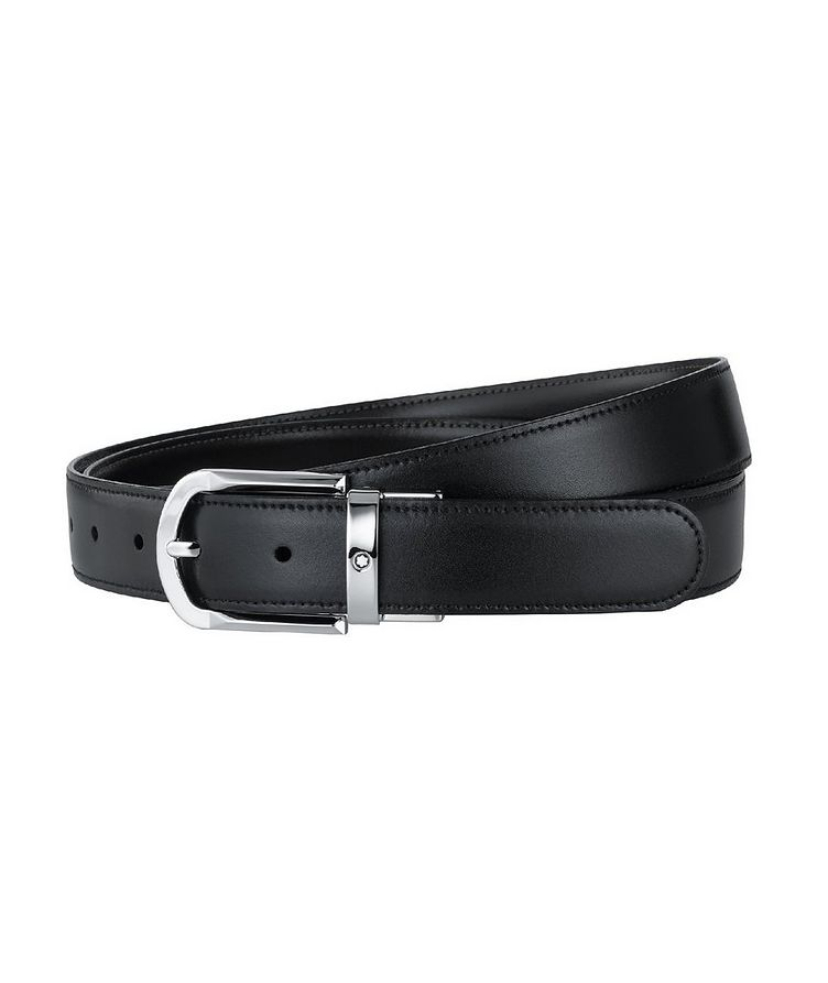 Reversible Leather Belt image 0