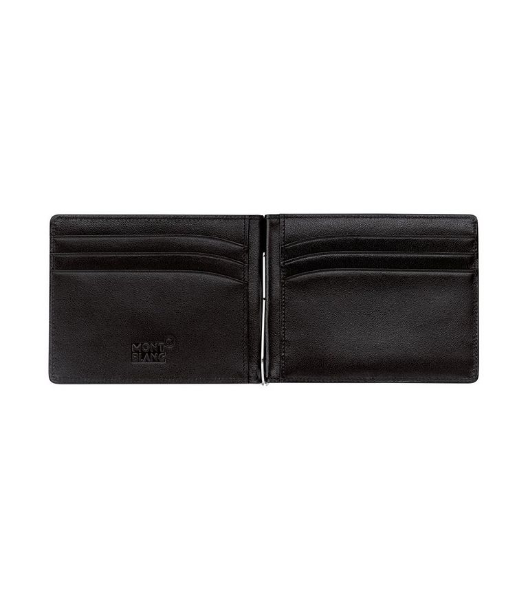 Meisterstück Leather Wallet with Money Clip image 1