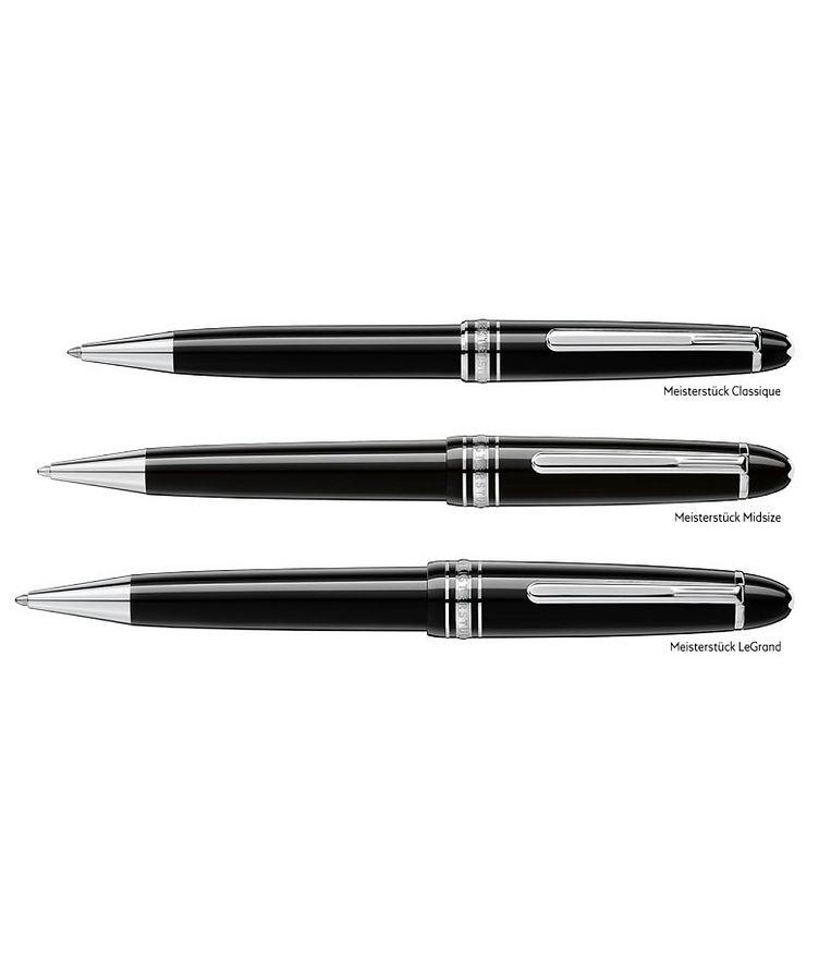 Meisterstück Platinum-Coated LeGrand Ballpoint Pen image 3