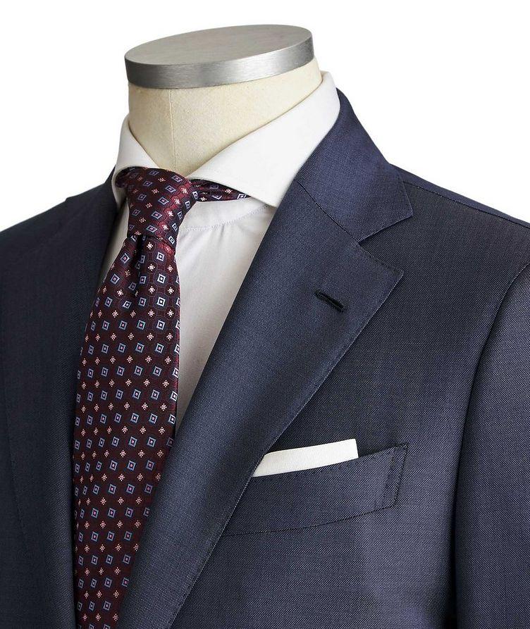 Slim Fit Pinpoint Suit image 1