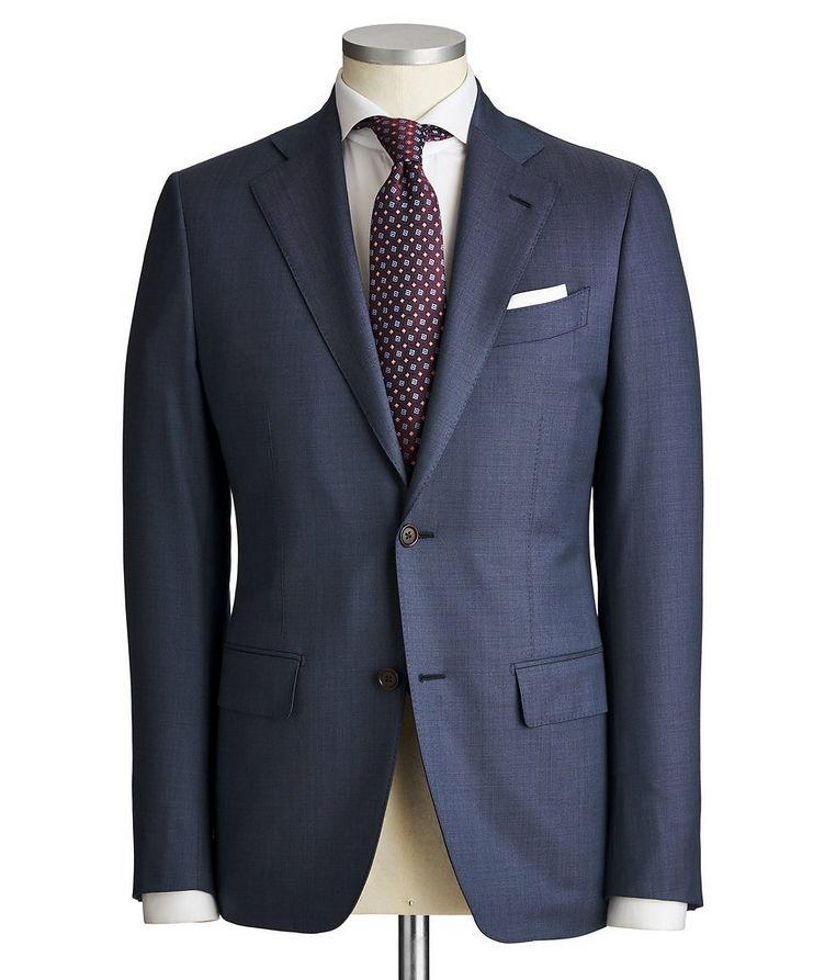 Slim Fit Pinpoint Suit image 0