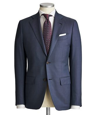 Atelier Munro Slim Fit Pinpoint Suit
