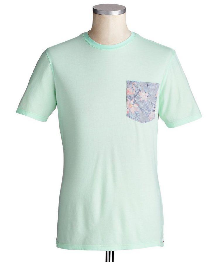 T-shirt en coton et modal image 0