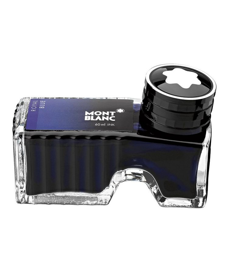 Royal Blue Ink Bottle image 0
