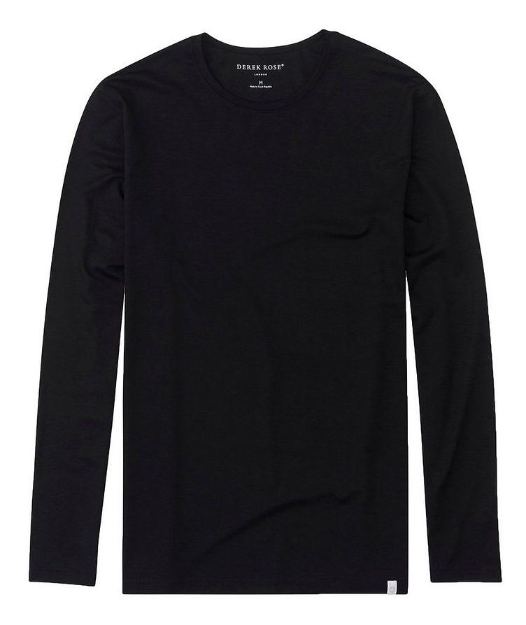 Long-Sleeve Basel Micro Modal T-Shirt image 0