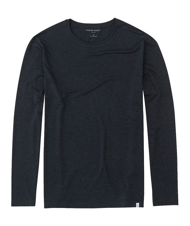 Long-Sleeve Marlowe Micro Modal T-Shirt picture 1