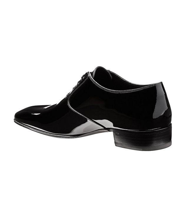 Chaussure lacée en cuir verni picture 2