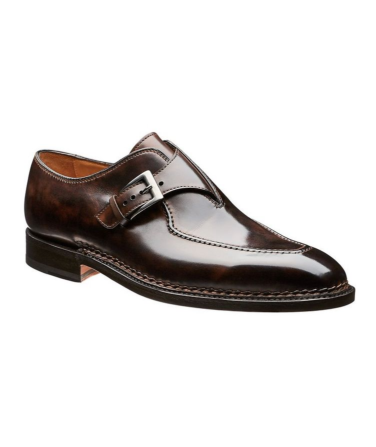 Leather Monkstraps image 0