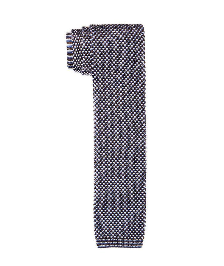 Knit Cotton Tie image 0