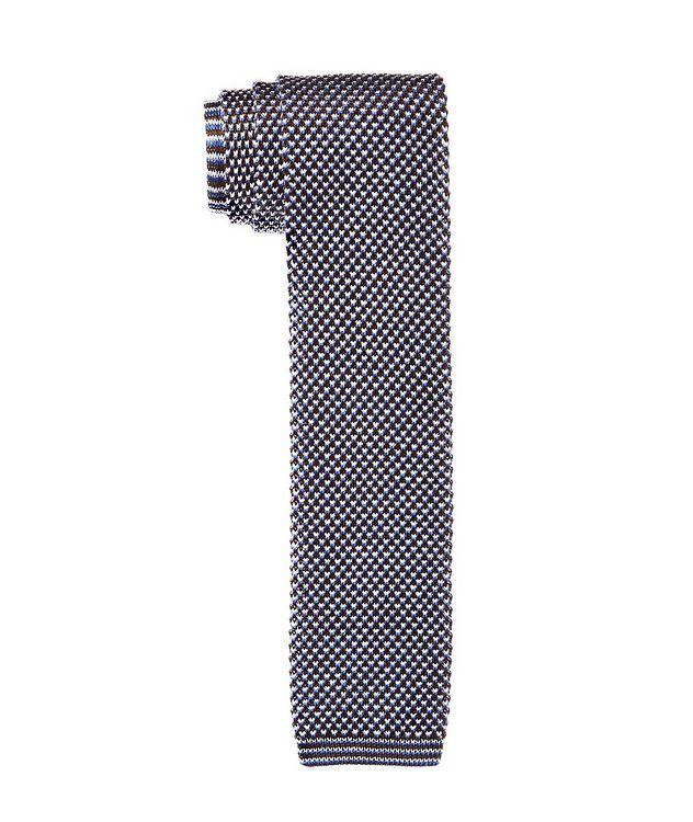 Knit Cotton Tie picture 1