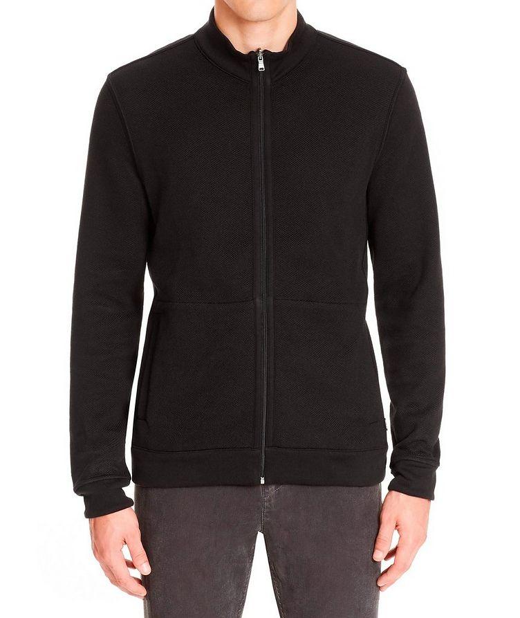 Reversible Zip-Up Sweater image 2