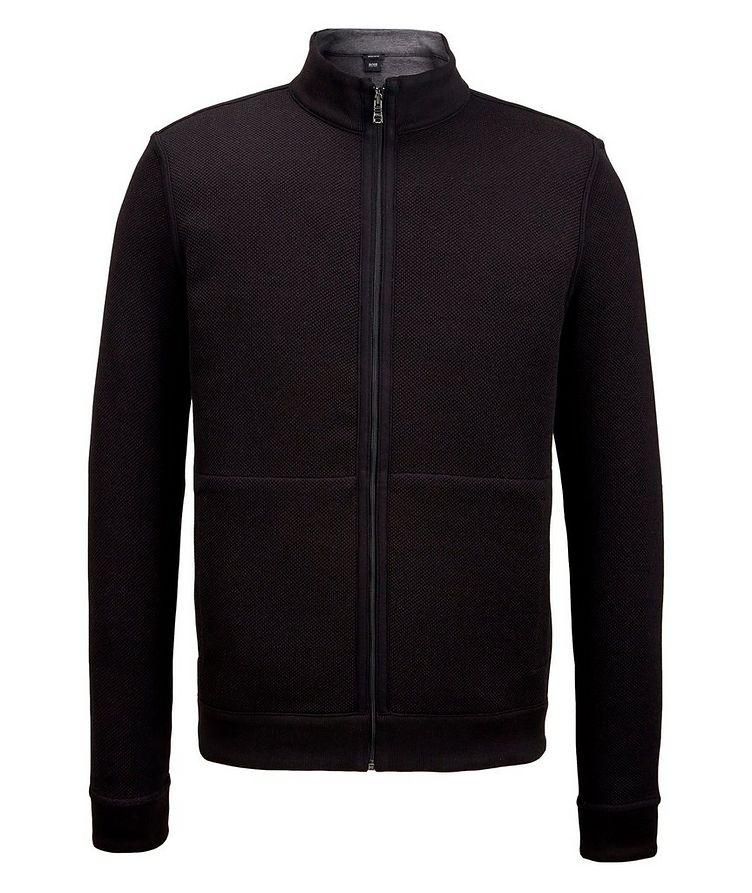 Reversible Zip-Up Sweater image 0