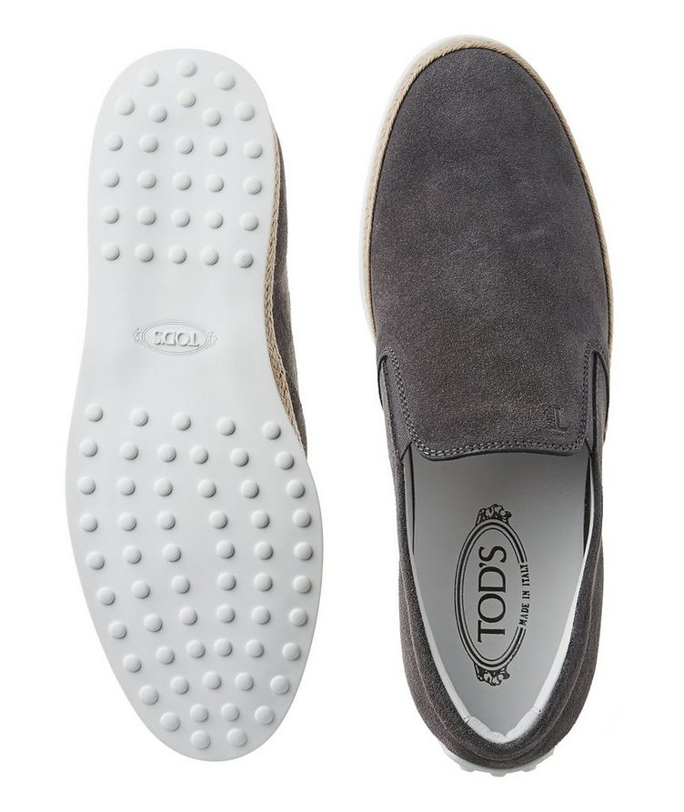 Suede Espadrille Slip-Ons image 1