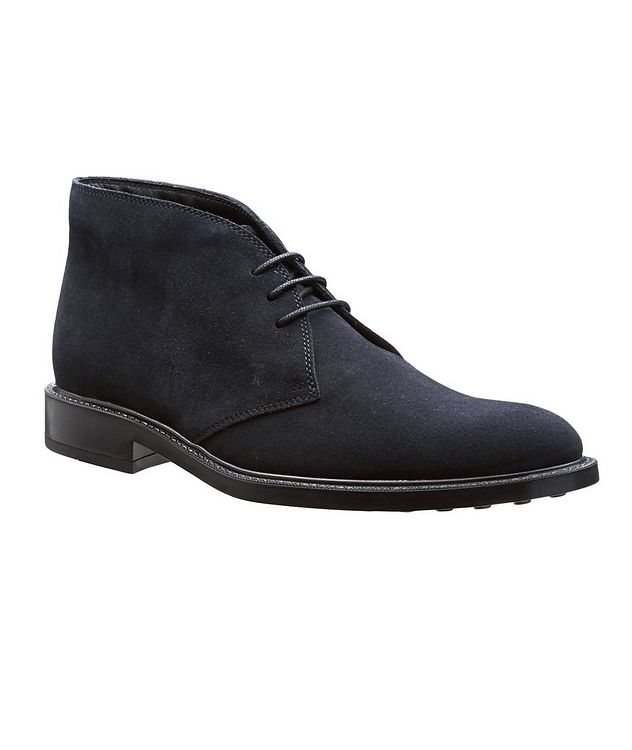 Suede Ankle Boots picture 1