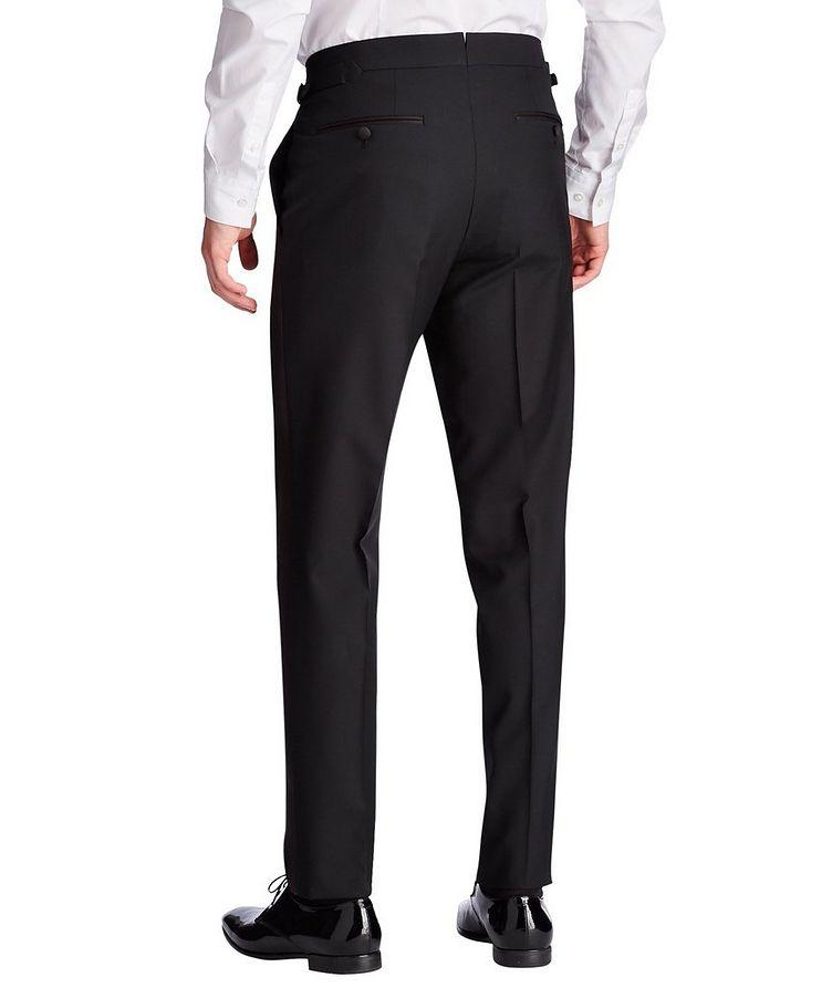 Silk Trimmed Tuxedo Pants image 1