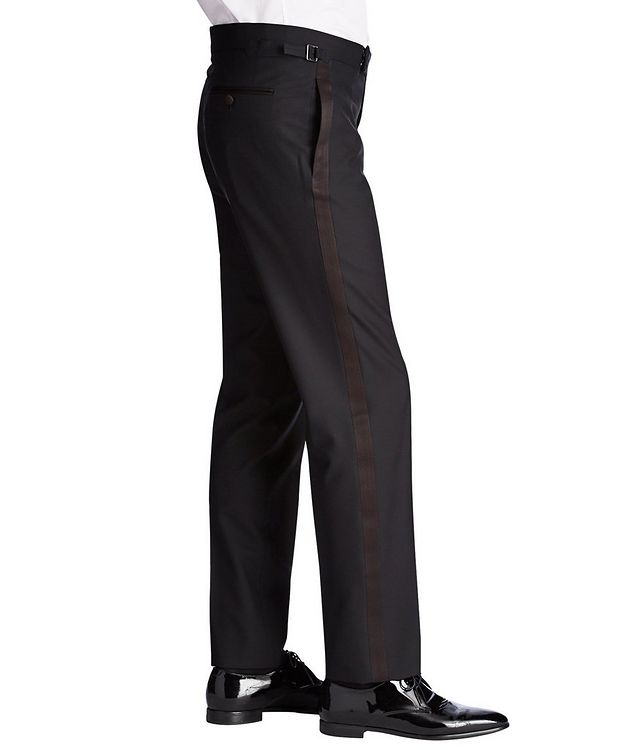 Silk Trimmed Tuxedo Pants picture 3