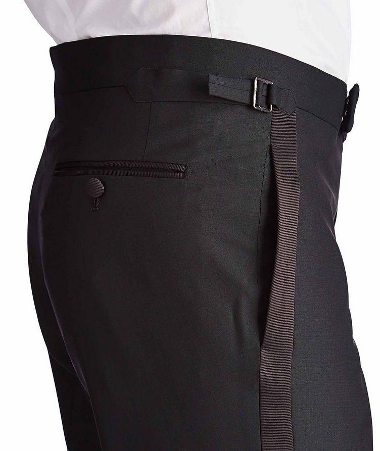 Silk Trimmed Tuxedo Pants image 3