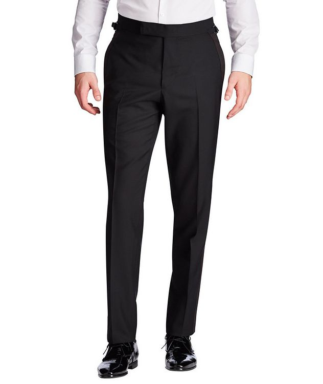 Silk Trimmed Tuxedo Pants picture 1